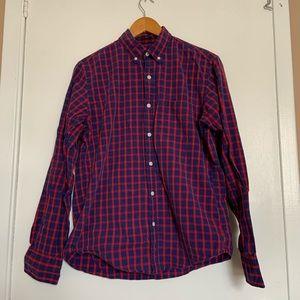 J.Crew Slim checkered Shirt size M